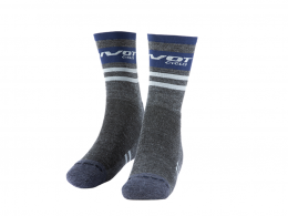 Factory Gray & Navy Socks