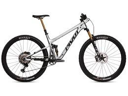 Trail 429 Carbon Team Frame metallic silver